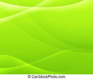 färg, abstrakt, grön fond