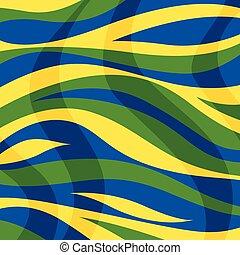färg, abstrakt, stripes, bakgrund, vågor