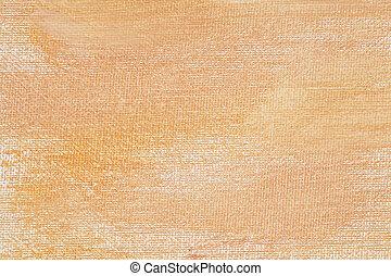 färg, kanfas, persika, struktur