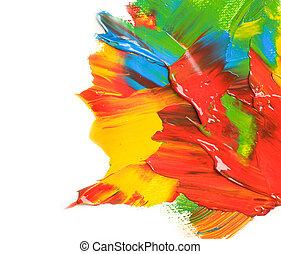 färg, måla