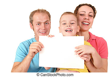 färg, text, kort, familj