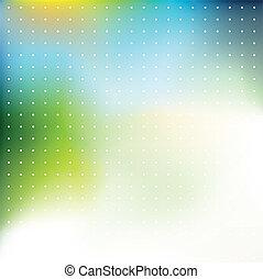 färgrik, bakgrund