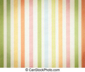 färgrik, bakgrund, med, mjuk, urblekt, rainbow-colored, lodlinje galon