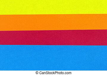färgrik, bakgrund, papper