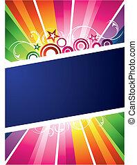 färgrik, design