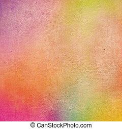 färgrik, grunge, bakgrund, struktur