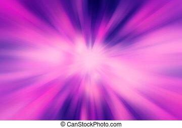 färgrik, radialdäck, strålande, verkan