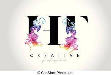 färgrik, vibrerande, leter, ht, skapande, vektor, design, ...