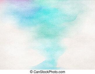 färgrik, watercolor., grunge, struktur, bakgrund., mjuk, bakgrund.