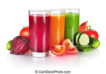 färsk grönsak, smoothie