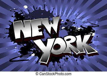 färsk, grunge, york