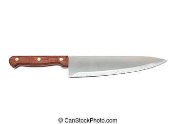 färsk, kök kniv