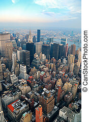 färsk, stad, manhattan, york