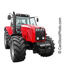 färsk, traktor