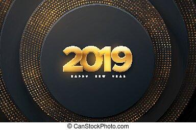 färsk, year., 2019, lycklig