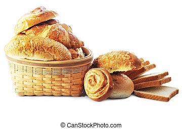färskt brända, bread