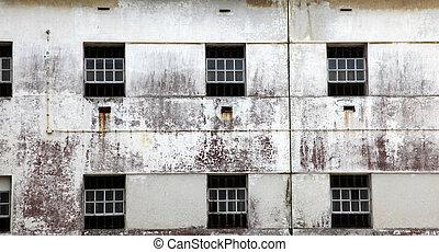 fængsel, vinduer