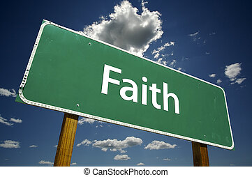 fé, sinal estrada