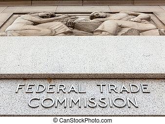 fédéral, dc, commission, commercer