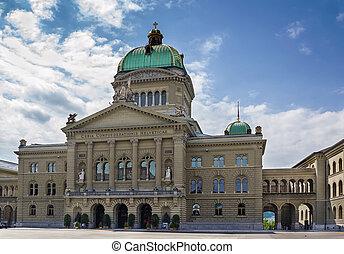 fédéral, suisse, berne, palais