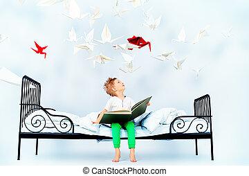 fée, livre, contes