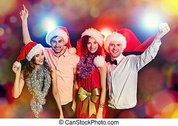 fél, karácsony