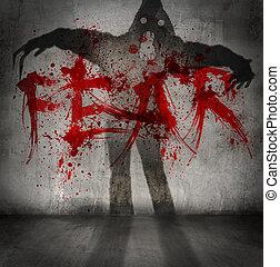 félelem, árnyék