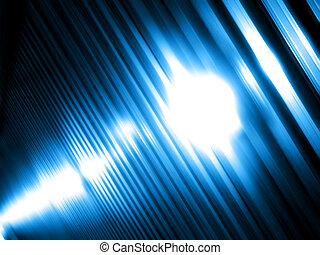 fény, elvont