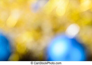 fény, karácsony, bokeh.