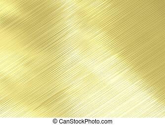 fényesített, arany
