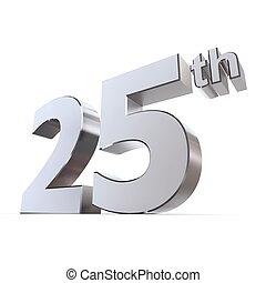 fényes, 25, -, silver/chrome