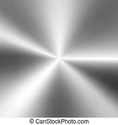 fényes, háttér, fémből való