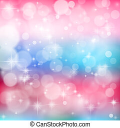fényes, izzó, particles