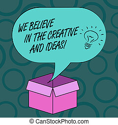 fénykép, felett, gondolat, bír, tiszta, írás, nyílik, kreativitás, kreatív, jegyzet, beszéd, újítás, kartondoboz, buborék, mi, box., ügy, kiállítás, halftone, ideas., elhisz, ikon, bizalom, belső, showcasing