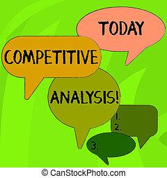 fénykép, versenyképes, hadászati, analysis., különböző, versenytárs, módszer, írás, kívül, beszéd, szöveg, fogalmi, buborék, használt, discussion., ügy, kiértékel, kiállítás, kéz, csoport, nagyság, árnyék