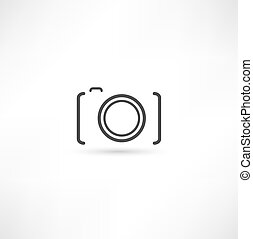 fényképezőgép, ikon