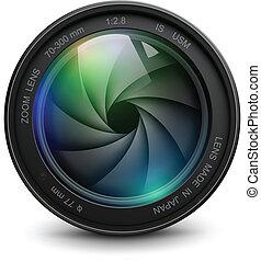 fényképezőgép lencse