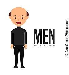 férfiak, avatar