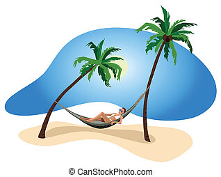 férias, em, a, trópicos