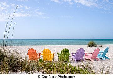 férias verão, praia