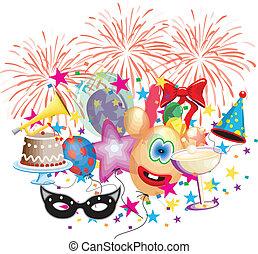 fête, événement, célébration