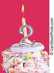 fête, anniversaire, 2ème