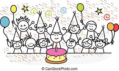 fête, anniversaire