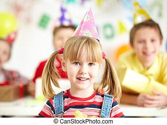 fête, anniversaire, mon