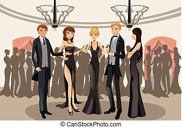 fête, banquet