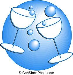 fête, boissons