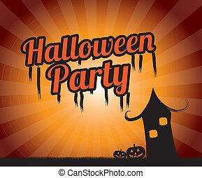 fête, halloween