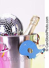 fête, joy!, champagne