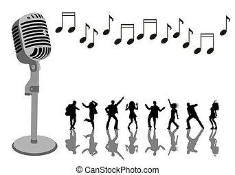fête, karaoke