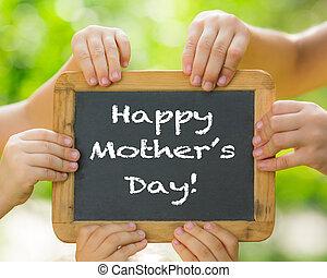fête mères, salutation